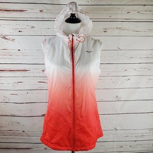 Saucony ~ Hooded Athletic Vest
